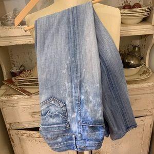 Goldsign Misfit Runway Jeans  Sz 25